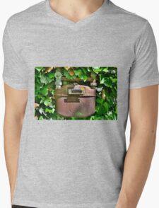 Old Italian Gas Meter Mens V-Neck T-Shirt