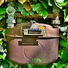 Old Italian Gas Meter by jojobob