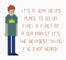 The IT Crowd – A Fire at Sea Parks?! Baby Tee