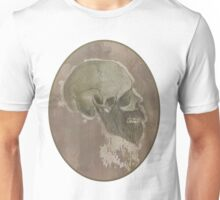 Ridiculous Bearded Skull Sketch  Unisex T-Shirt