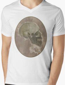 Ridiculous Bearded Skull Sketch  Mens V-Neck T-Shirt