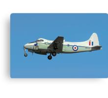 De Havilland DH104 Devon C.2 WB534/DB Canvas Print