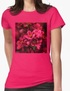 Dark Spring Dreams Womens Fitted T-Shirt