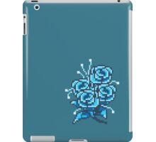 8-bit flower 2 iPad Case/Skin