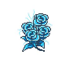8-bit flower 2 Photographic Print