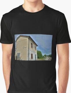 Disused Rail Building Between Moimacco and Cividale del Friuli Graphic T-Shirt