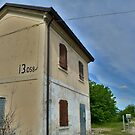 Disused Rail Building Between Moimacco and Cividale del Friuli by jojobob
