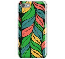 Weaving hand drawn pattern iPhone Case/Skin