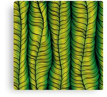 Green illusion Canvas Print