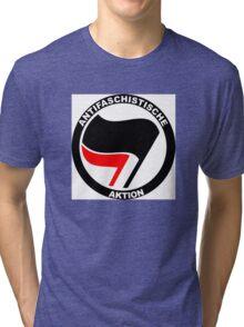 Anti-Fascist Action Tri-blend T-Shirt