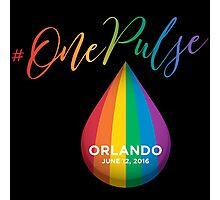 #OnePulse - remembering Orlando Photographic Print