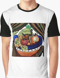 Fruit Bowl Graphic T-Shirt
