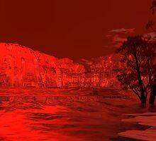 Krypto Sunset2 by Sazzart