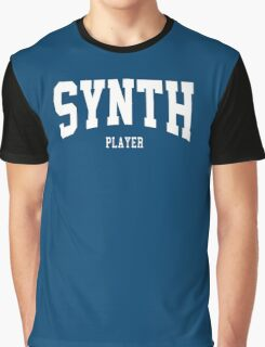 Synth Player Graphic T-Shirt