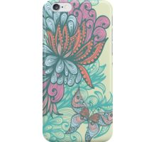 Butterfly & Rose iPhone Case/Skin