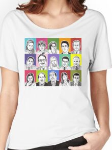 The Office Cast Women's Relaxed Fit T-Shirt