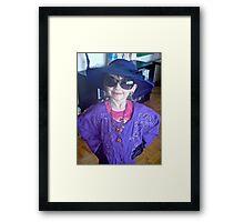 Makayla the Movie Star Framed Print