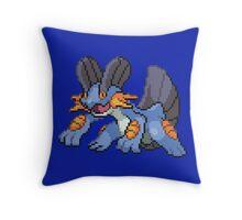 Swampert Throw Pillow