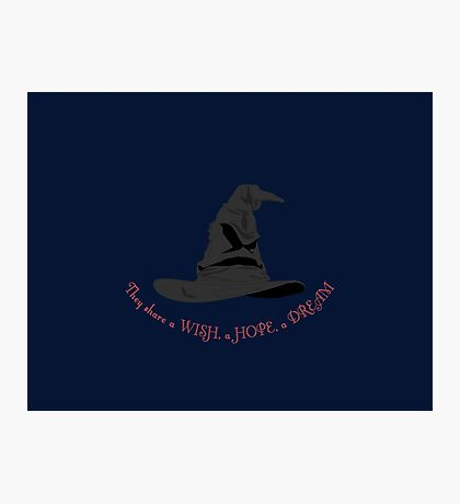 The Sorting Hat Photographic Print