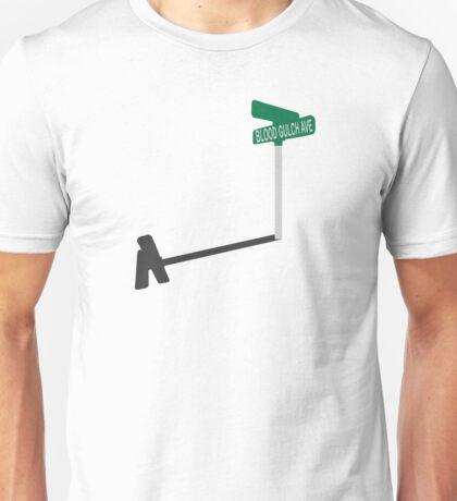 Blood Gulch Ave. Unisex T-Shirt