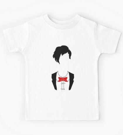 Eleventh Doctor Silhouette Kids Tee