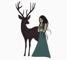 My deer friend by franzi