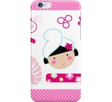 Beauty and spa design elements collection iPhone Case/Skin