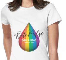 #OnePulse - remembering Orlando Womens Fitted T-Shirt