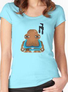 MiniWars: HammerHead Figure Women's Fitted Scoop T-Shirt