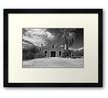 The Store at Big Bend Hot Springs Framed Print