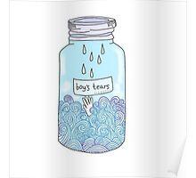 Boys Tears Poster