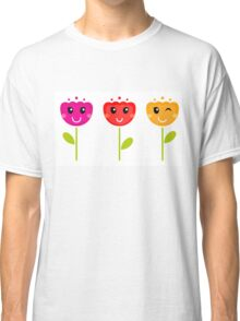 Cute colorful tulips - SPRING Designs Classic T-Shirt