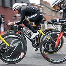 Giro d'Italia - Belfast  - Not So Pink by Alan McMorris