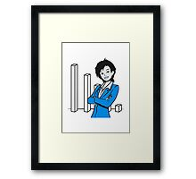 successful career woman Framed Print