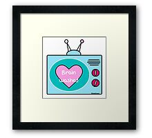 Brain Washed Framed Print