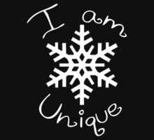 I Am Unique Baby Tee
