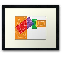 Colour Mix Framed Print