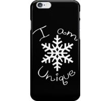 I Am Unique iPhone Case/Skin