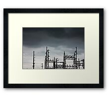 Power Forces Framed Print