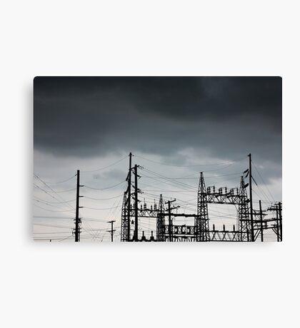 Power Forces Canvas Print