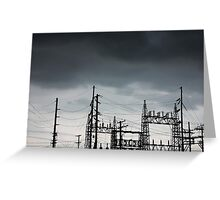 Power Forces Greeting Card