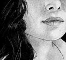 sarah shahi in pencils.  Sticker