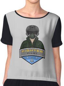 Air Force - Fighter Pilot Chiffon Top