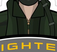 Air Force - Fighter Pilot Sticker