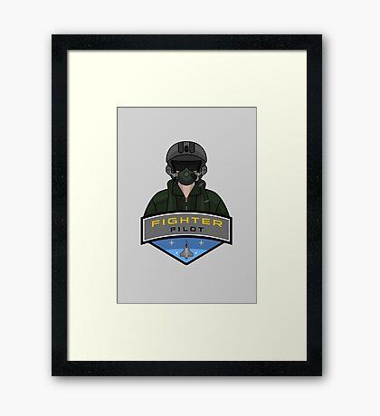 Air Force - Fighter Pilot Framed Print