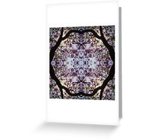 Dark Nature: Lilac Tree Greeting Card