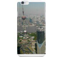 Shanghai Skyline iPhone Case/Skin
