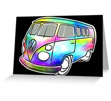 VW T1 magic bus Greeting Card