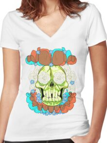 Do Not Forget Women's Fitted V-Neck T-Shirt