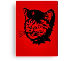 Che Cat Canvas Print